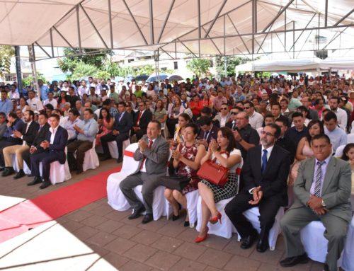 Posesión del Alcalde de Santa Isabel  2019-2022